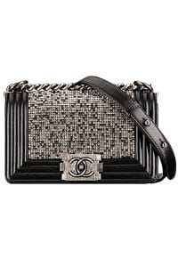 Chanel Black Boy Chanel By Night Flap Small Bag - Spring 2014 Act I