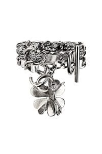 Chanel Chain Bracelet with Flower - Spring 2014 Act I
