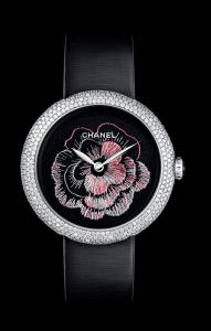 Chanel Coromandel Camelia Prive Watch