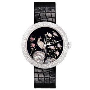 Chanel Coromandel Watch with Peacock
