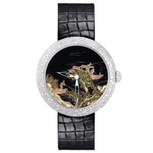 Chanel Coromandel Watch with Water Scene 3