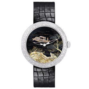 Chanel Coromandel Watch with Water Scene