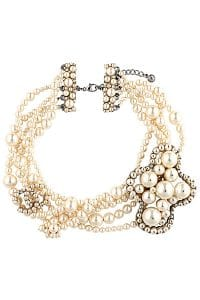 Chanel Four Strand Pearl Bracelet - Spring 2014 Act I