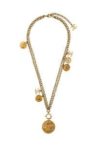 Chanel Gold Chain Necklace - Spring 2014 Act I