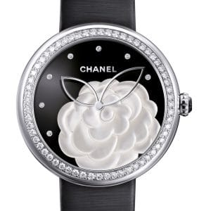 Chanel Mademoiselle Prive Watch Large Camellia