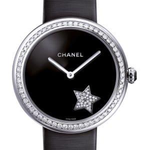Chanel Mademoiselle Prive with Diamond Bezel Watch