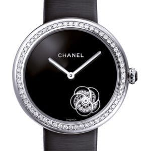 Chanel Mademoiselle Prive with Diamond Camelia Watch