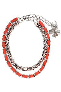 Chanel Orange Chain Necklace - Spring 2014 Act I