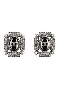 Chanel Silver Earrings - Spring 2014 Act I