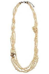 Chanel Three Strand Pearl Necklace 2 - Spring 2014 Act i