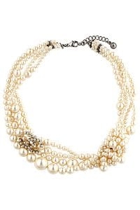 Chanel Three Strand Pearl Necklace - Spring 2014 Act I