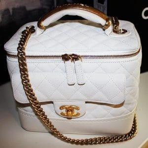 Chanel White Vanity Case - Fall 2013