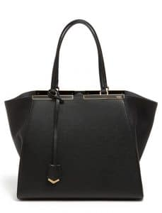 Fendi Black 3Jours Tote Bag