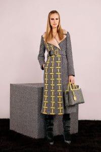 Fendi Black/Yellow Tweed 2Jours Bag - Pre-Fall 2014