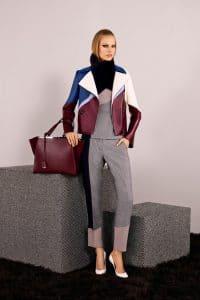 Fendi Burgundy 2Jours Bag - Pre-Fall 2014