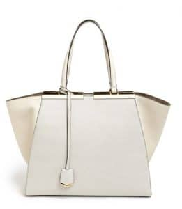 Fendi Milk/White 3Jours Tote Bag