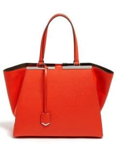 Fendi Poppy 3Jours Tote Bag
