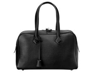 Hermes Black Victoria II 35cm Bag