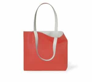 Hermes Blood Orange/Pearl Grey Double Sens Sikkim 36cm Bag