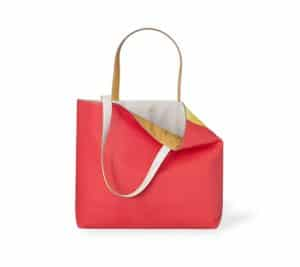 Hermes Jaipur/Pink/Sulphur Curry Yellow Double Sens Sikkim 45cm Bag