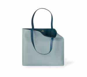 Hermes Sky Blue/Maltese Blue Double Sens 45cm Bag
