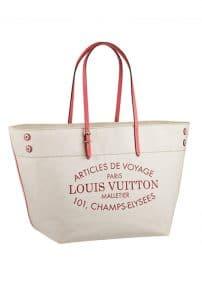 Louis Vuitton Articles De Voyage Tote bag - Spring Summer 2014