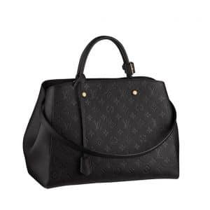 Louis Vuitton Black Large Tote Bag - Spring Summer 2014