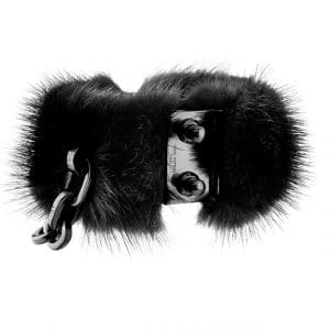 Louis Vuitton Black Mink Cuff - Spring Summer 2014