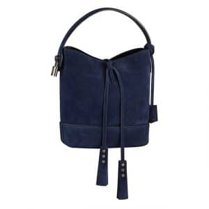 Louis Vuitton Blue Suede NN14 Bag - Spring Summer 2014