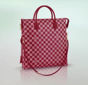 Louis Vuitton Carmine Damier Couleur Mobil Bag