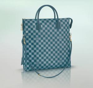 Louis Vuitton Cyan Damier Couleur Mobil Bag
