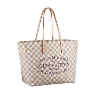 Louis Vuitton Damier Azur Articles de Voyage Tote Bag - Spring Summer 2014