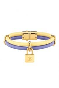Louis Vuitton Double Rolled Cable Bracelet with Lock - Spring Summer 2014