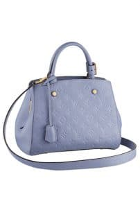 Louis Vuitton Monogram Vernis Baby Blue Tote Bag - Spring Summer 2014