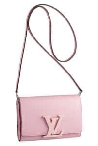 Louis Vuitton Pink Enamel Louis Bag - Spring Summer 2014