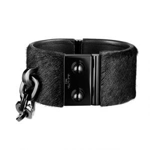 Louis Vuitton Pony Hair Black Cuff - Spring Summer 2014