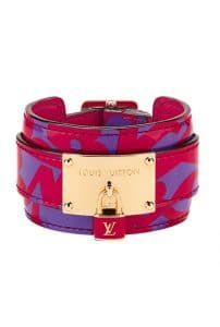 Louis Vuitton Stephen Sprouse Leather Cuff - Spring Summer 2014