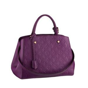 Louis Vuitton Violet Large Tote Bag - Spring Summer 2014