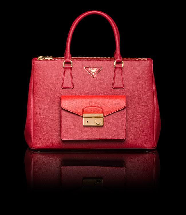 ... coupon for prada red lacquer red saffiano lux tote with cargo pocket bag  9da0a 894ac e36d68ac614da