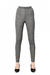 Saint Laurent Princes De Galles Wool Trousers