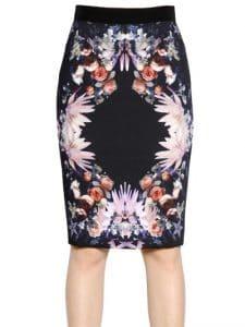 Givenchy Print Skirt