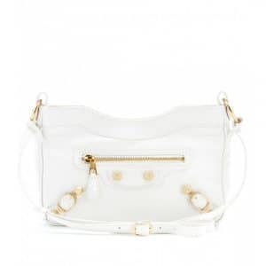 Balencia White Ivoire Claire Hip Bag - Spring 2014