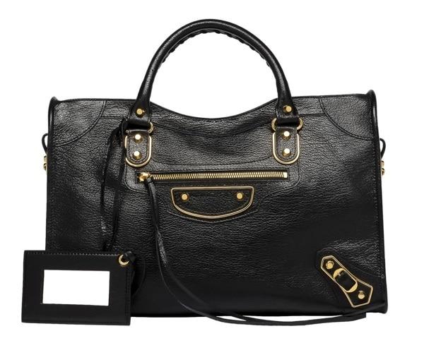 42cc2e7728a7 Balenciaga Metallic Edge City Bag Reference Guide