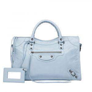 Balenciaga Bleu Dragee/Light Blue Classic City Bag