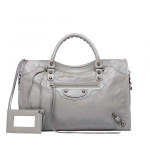 Balenciaga Gris Pyrite Classic City Bag