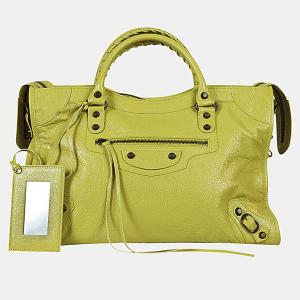Balenciaga Jaune Poussin/Chartreuse Classic City Bag
