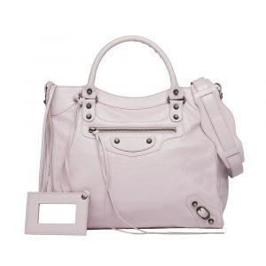 Balenciaga Rose Poudre/Powder Pink Classic Velo Bag