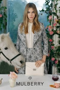Cara Delevingne for Mulberry SS2014 2
