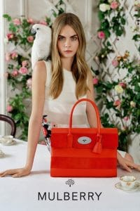 Cara Delevingne for Mulberry SS2014 3