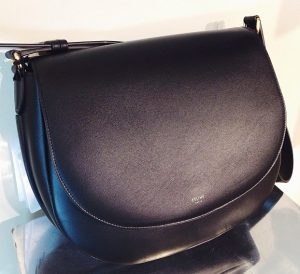 Celine Black Trotteur Bag